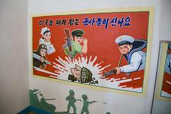 Propaganda for children in Kangso's kindergarten (bvoneche) Tags: kp coredunord southpyongan