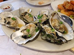 Grilled Oysters (Foggy Bear) Tags: food sanfrancisco california newjumborestaurant noriega