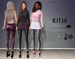KITJA - Meli Outfit (ᴋɪᴛᴊᴀ) Tags: life mesh second fitted kitja
