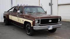 Chevrolet Silverado 30 Camper Special (Thethe35400) Tags: auto car automobile pickup voiture coche bil carro bll cotxe