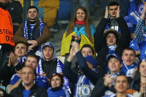 FC Chelsea fans / Болельщикми ФК Челси