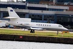 I-CAFD Dassault Falcon 50 (lee_klass) Tags: travel england london plane canon airplane unitedkingdom aviation transport jet aeroplane docklands biz londoncityairport airtravel airtransport dassault trijet planespotting bizjet cityairport lcy eeu eglc aviationphotography executivejet canonef75300mmf456 dassaultfalcon50 icafd euroflyservicespa aviationspotter aviationenthusiast avionsmarceldassault aviationawards canoneos1200d canonaviation