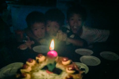 happiness in the dark (iriswins) Tags: birthday david cake candle ben brothers jojo