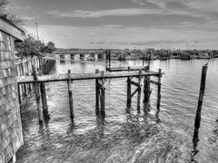 (mahler9) Tags: blackandwhite harbor pier provincetown capecod may newengland wharf 2014 jaym mahler9