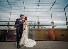 Seattle Space Needle Wedding (Rick Takagi) Tags: seattle wedding party groom bride tea space chinese ceremony center needle