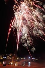 Fireworks 3 20151113 (Steve TB) Tags: sea beach night canon fireworks broadstairs vikingbay bleakhouse eos5dmarkiii