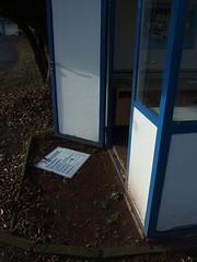 Preistafel (mkorsakov) Tags: abandoned sign decay rip ground schild stadion verfall fusball waldstadion leerstand waltrop seufz vfbwaltrop kassenhuschen