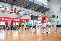 7thMoxaBadmintonIndustrialCup133 (Josh Pao) Tags: badminton 師大附中 羽球 大安站 moxa 第七屆 邀請賽 艾訊 四零四 axiomtek 工業盃 工業電腦盃