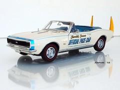 1967 Chevrolet Camaro SS Convertible - Indy 500 Pace Car Edition (JCarnutz) Tags: chevrolet 1967 pacecar diecast camaross 124scale danburymint