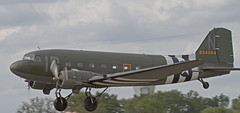 Douglas DC-3 Dakota (Hawkeye2011) Tags: uk aircraft aviation military transport airshow planes douglas dc3 dakota farnborough 2014