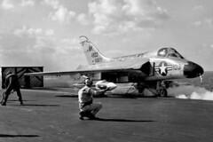 VF-102 F4D-1 Skyray BuNo 134933 (skyhawkpc) Tags: airplane aircraft aviation navy douglas naval usnavy usn 1959 skyray ak103 ussforrestal cva59 f4d1 vf102diamondbacks 134933