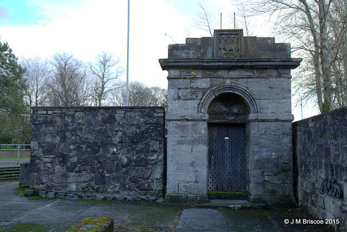 Gateway to Dumbarton Old Prison