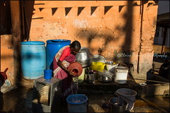 Water.  Mysore (Claire Pismont) Tags: asie asia inde india mysore streetshot street streetphotography documentory dailylife pismont clairepismont travel travelphotography karnataka light lifeinindia shadow