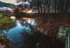 The Last light (lutzheidbrink) Tags: sunset river nikon d5000 landscape landschaft herford hiddenhausen deutschland germany naturereserve nature naturephotography sonnenuntergang long exposure