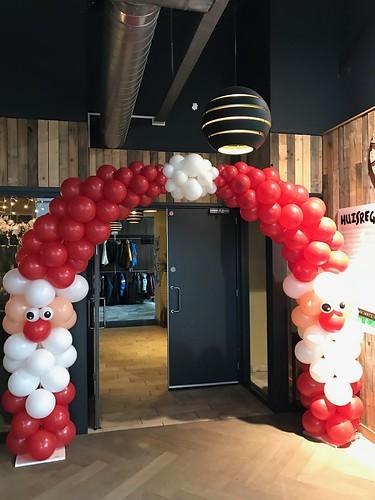 Ballonboog 6m Kerstmannen Watertuin Spijkenisse