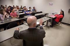 091216_India_02 (Michigan Engineering) Tags: annarbor usa umich michigan michiganengineering collegeofengineering um wolverines horizontalframing eecs technology higherschooler faculty group classroom