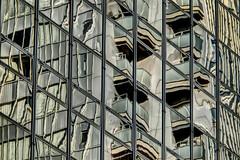 reflection, Yotsubashi-suji, Osaka (jtabn99) Tags: yotsubashisuji street window reflection sidewalk osaka japan nippon nihon casiohdrartmode 大阪 四つ橋筋 歩道 反射 窓
