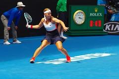 Cibulkova vs Allertova (Derek _Kan) Tags: cibulkova allertova australian open 2017 pentax ricoh k3 tennis slam women action