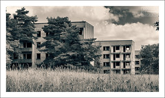 Berlin Olympic Village (Vincent_AF) Tags: berlin olympics olympicvillage history abandoned