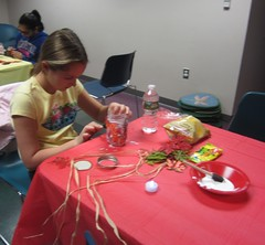 IMG_6804 (Billerica Public Library's Photostream) Tags: billericapubliclibrary youngadultprogram thanksgiving day centerpieces craft