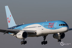 G-OOBE Boeing 757 28A (Gary J Morris) Tags: brs eggd garymorris goobe boeing 757 28a tui thomson airways bristol airport 21012017 tom bal by
