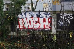 Jets / Noch (Alex Ellison) Tags: jets noch irp northlondon trackside railway urban graffiti graff boobs