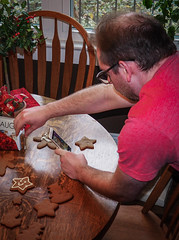 Sharing my Amazing creation with the world (raddad! aka Randy Knauf) Tags: raddad6735212 raddad randyknauf raddad4114 randy knauf gingerbreadman gingerbread gingerbreadmen chirstmastradition hickory hickorynorthcarolina family