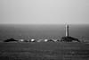 Standing Solitary (richardsolway) Tags: landsend lighthouse rocks seaside sea waves blue cornwall