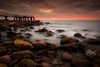 The sea (Anto Camacho) Tags: xilxes rocks mediterraneansea seascape landscape pier castellón valencia valenciancommunity bigstopper sunshine clouds sky foam