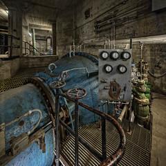 Hubee Bigblubee (billmclaugh) Tags: hydroelectricgeneratingstation kentucky dam water flood reservoir power generators turbines allischalmers canon 5dmiii tse17mmf4l tiltshift ef2470mmf28liiusm highdynamicrange hdr photomatix adobe photoshop lightroom on1