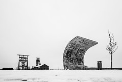 first snow (Heinz Wille) Tags: leica m8 monochrome ruhrgebiet pott ruhrpott industriekultur schnee snow 21mm dortmund