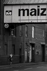 Maiz (Tom Shearsmith Photography) Tags: brooding bw brick brickwork village vintage grain hdr tone tonemap photography photoshop photo architecture arch art buildings building woman rain nikon