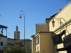 Lamps and wall at Place Rcif, Fez, Morocco (Paul McClure DC) Tags: fez morocco fès almaghrib dec2016 medina feselbali maroc mosque historic architecture