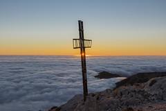 The Cross (jrosvic) Tags: landscape sierraespuña paisaje sunrise nikond7100 nikon18105mmf3556vr murcia spain totana freehand amanecer cloud cloudsea