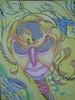 Figura (Artlynow galleria d'arte) Tags: dipinto quadro pittura acquerello abelederenzi quadroastratto artista