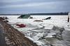 There was a boat ... (Neca 79) Tags: dissaster catastrophe danube dunav zemun semlin serbia boat river riverside ice snow belgrade canon eos1dsmarkiii ef1635f4lisusm chaos
