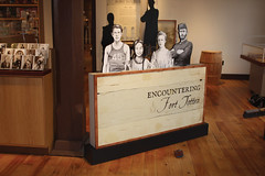Encountering Fort Totten (TaylorStudiosInc) Tags: forttotten taylorstudios northdakota nativeamerican fort tipi dakota chippewa student military militaryfort galleryintro introduction graphiccutout