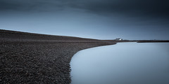 The Ridge (Scott Baldock) Tags: shingle street suffolk long exposure fine art blue tone canon 5d iii landscape seascape pebbles pebble beach ethereal mood atmospheric wide angle 6stop minimal minmalist early morning nd filter