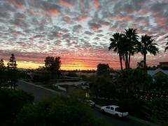 Sunset in Phoenix,  Arizona (RobinJP) Tags: sunset arizona phoenix redsky clouds magicalsky sky night sailorsdelight