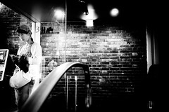 (ken's style 1) Tags: japan urban city town snap street momochrome blackwhite lady