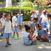 Cuban Children Playing in the Park