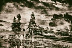 The Ebb And Flow Of Days (pni) Tags: sand sky water ice cloud tree hietaniemenuimaranta hietaranta hietsu sandudd sandstrandsbadstrand beach multiexposure multipleexposure tripleexposure helsinki helsingfors finland suomi pekkanikrus skrubu pni