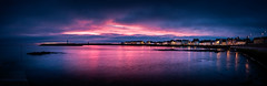 Lovely In Pink   [Explored] (RonnieLMills) Tags: early morning sunrise blue hour donaghadee harbour lighthouse pinks blues explore explored 20217 68