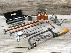Missing my Father today, E.B.P. ,,,  R.I.P (c.c.pinto) Tags: tools vernier caliper anvil micrometer