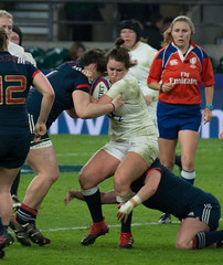 England v France #11 (Claire Stones) Tags: france redroses twickenham 6nations rugbyunion 2017 twickenhamstadium rugby englandvfrance england sixnations womensrugby