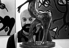 ARCO 84 JULIO CRUZ PRENDES (Pedro Angel Ruiz) Tags: julio cruz prendes arco 84 artista canario escultor