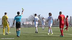 Napolitano (di spalle) e Gianmarco Distefano (calciocatania) Tags: catania catanzaro campionato beretti