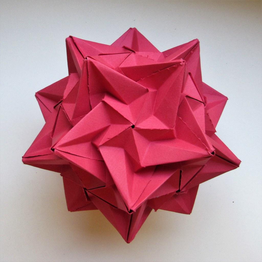 The World's Best Photos of icosahedron and kusudama ... - photo#50