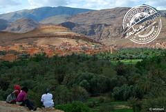 Panorámica - Tinerhir (sahatours) Tags: voyage africa travel viaje mountains landscape nikon morocco maroc viagem marocco marruecos viaggio marrocos travelphotography travelphoto