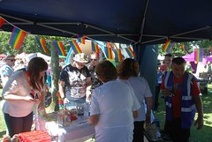 """Busy Pride in Plymouth Stall at Plymouth Pride 2015 - Plymouth Hoe • <a style=""""font-size:0.8em;"""" href=""""http://www.flickr.com/photos/66700933@N06/20621361142/"""" target=""""_blank"""">View on Flickr</a>"""